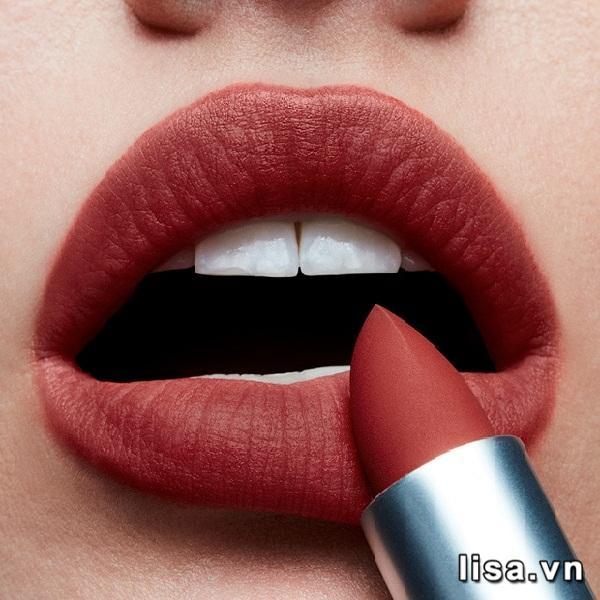 Son MAC Powder Kiss Devoted To Chili 316 - Màu son hot nhất hiện nay