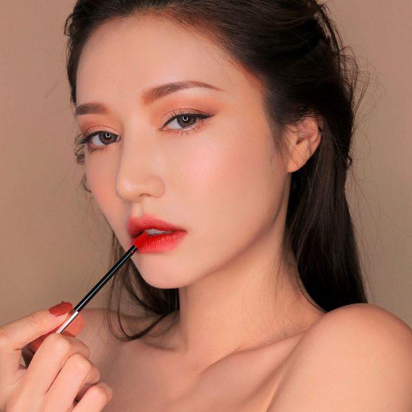 Son Kem Lì 3CE Cloud Lip Tint Màu Macaron Red - Đỏ Tươi 1