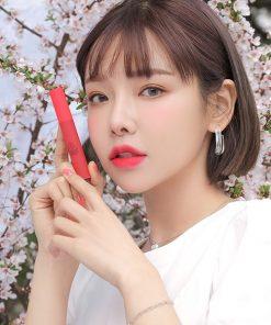 Son Kem Lì 3CE Smoothing Lip Tint Màu Dollyfied - Hồng San Hô 4