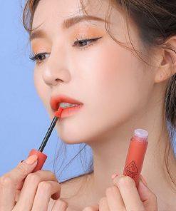 Son Kem 3CE Soft Lip Lacquer Màu Define This - Cam Sữa 4