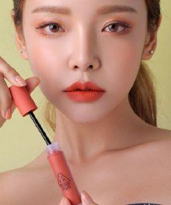 Son Kem 3CE Soft Lip Lacquer Màu Define This - Cam Sữa 5