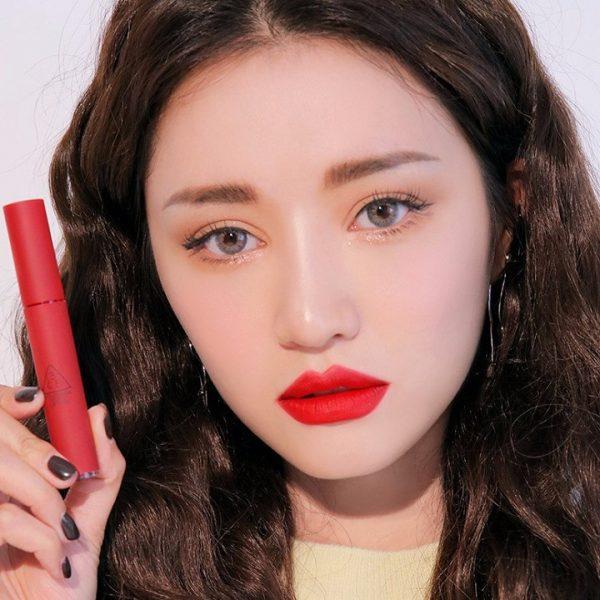 Son Kem Lì 3CE Velvet Lip Tint Màu Best Ever - Đỏ Thuần 3
