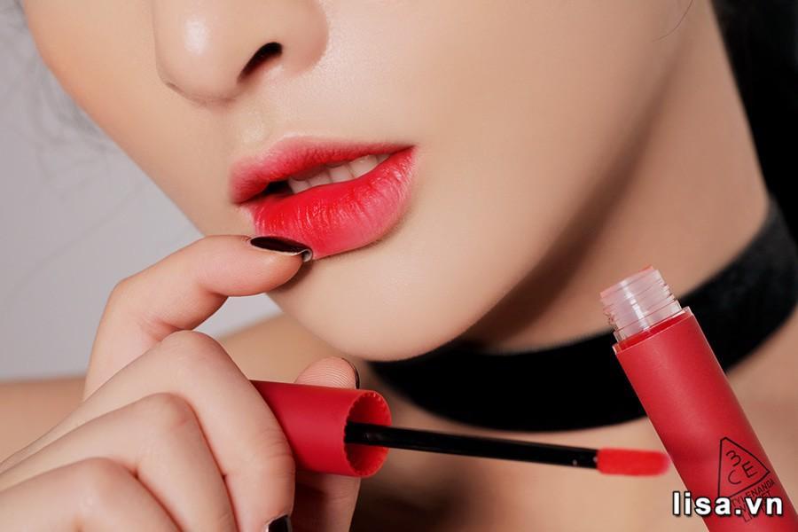 Son 3CE Velvet Lip Tint Best Ever có chất son mướt mịn