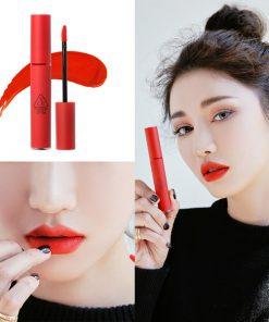 Son 3CE Velvet Lip Tint Childlike – Màu Đỏ Cam 5
