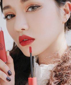 Son Kem Lì 3CE Velvet Lip Tint Màu Daffodil - Đỏ Đất 7