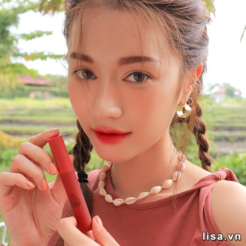 Son 3CE Smoothing Lip Tint Have A Blast - Đỏ Hồng 7