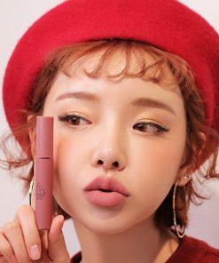 Son Kem Lì 3CE Velvet Lip Tint Màu Near And Dear - Hồng Đất 7