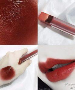 Son Black Rouge Air Fit Velvet Tint Ver 3 Màu A17 Bolivian Pomegranate - Đỏ Lạnh 7