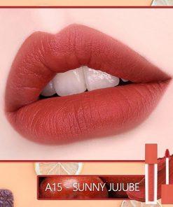 Son Black Rouge Air Fit Velvet Tint Ver 3 Màu A15 Sunny Jujube - Nâu Ánh Đỏ 5