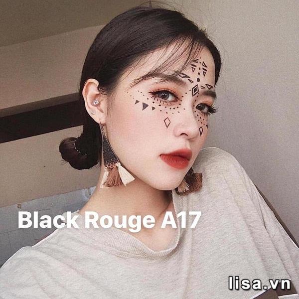 Black Rouge A17 khi đánh full môi cực quyến rũ