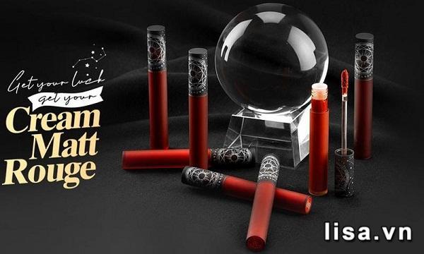 Thiết kế Black Rouge Cream Matt Rouge CM01 lấy cảm hứng bộ bài Tarot