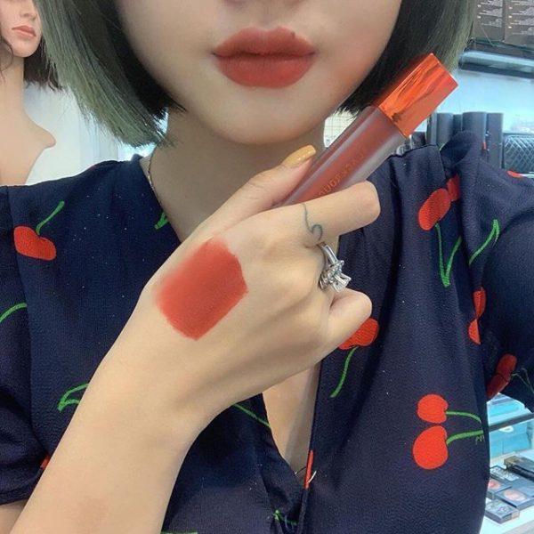 Son Black Rouge Air Fit Velvet Tint Ver 3 Màu A14 Peach Red - Đỏ Đào Trầm 3