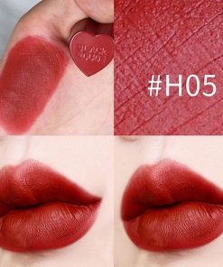 Son Black Rouge Color Lock Heart Tint Màu H05 Provocative Cherry - Đỏ Nâu 5