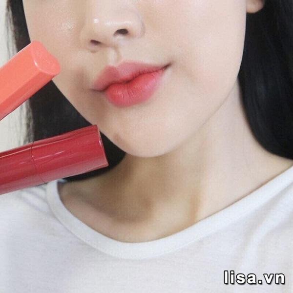 Son Black Rouge Color Lock Heart Tint Màu H04 Almond Berry - Hồng Đào 3