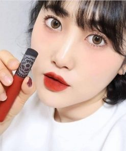 Son Black Rouge Cream Matt Rouge CM02 - Đỏ Cam Đào 6