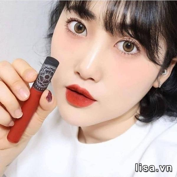 Son Black Rouge Cream Matt Rouge CM02 - Đỏ Cam Đào 3