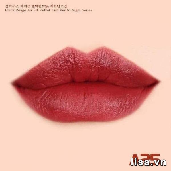 Son Black Rouge Ver5 A25 - Màu Đỏ Trầm 9