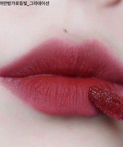 Son Black Rouge Air Fit Velvet Tint Ver 5 Màu A27 Wanderlust - Đỏ Lạnh 4