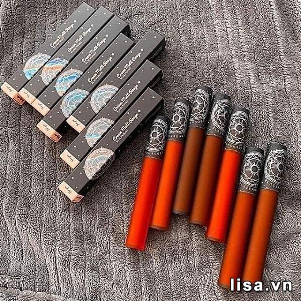 Thiết kế Black Rouge Cream Matt Rouge CM03 cảm hứng từ bộ bài Tarot ấn tượng
