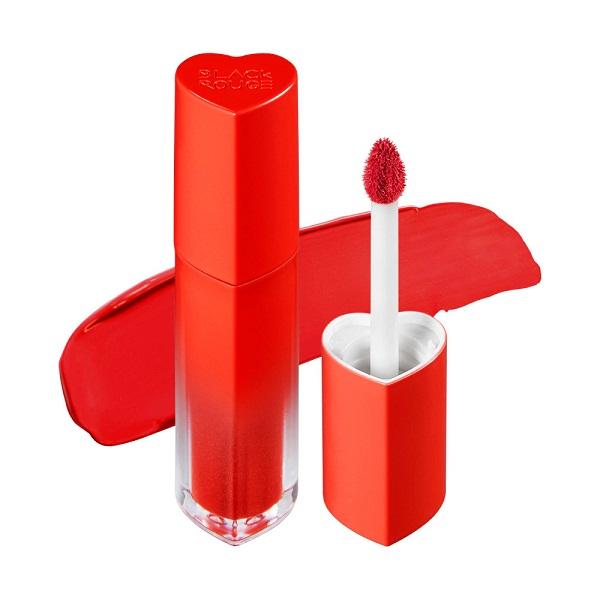 Son Black Rouge Color Lock Heart Tint Màu H03 Neon Pomelo - Cam Đỏ 1