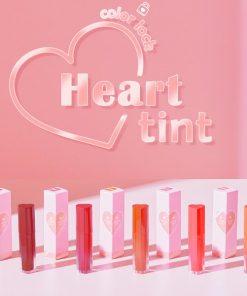 Son Black Rouge Color Lock Heart Tint Màu H03 Neon Pomelo - Cam Đỏ 7