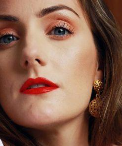 Quà Tặng Bạn Gái Son Gucci Rouge À Lèvres Matte 500 Odalie Red - Đỏ Cam 4