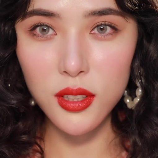 Son Gucci Rouge à Lèvres Satin Màu 302 Agatha Orange – Đỏ Cam 2