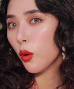 Son Gucci Rouge à Lèvres Satin Màu 302 Agatha Orange – Đỏ Cam 7