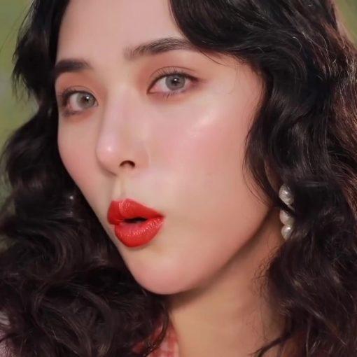 Son Gucci Rouge à Lèvres Satin Màu 302 Agatha Orange – Đỏ Cam 1