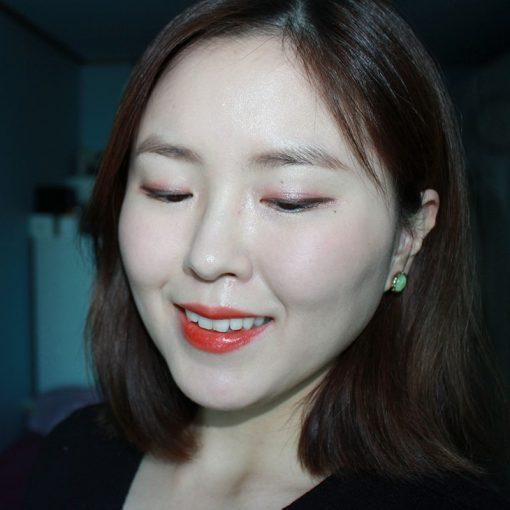 Son Gucci Rouge à Lèvres Satin Màu 302 Agatha Orange – Đỏ Cam 5