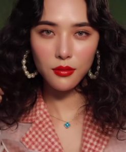 Son Gucci Rouge à Lèvres Satin Màu 302 Agatha Orange – Đỏ Cam 9