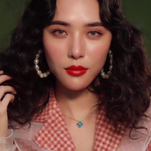 Son Gucci Rouge à Lèvres Satin Màu 302 Agatha Orange – Đỏ Cam 3