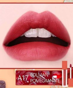 Son Black Rouge Air Fit Velvet Tint Ver 3 Màu A17 Bolivian Pomegranate - Đỏ Lạnh 5