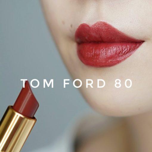 Tom Ford 80 Impassioned khi đánh full môi