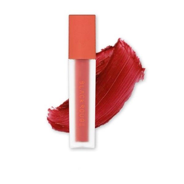 Son Black Rouge Air Fit Velvet Tint Ver 3 Màu A15 Sunny Jujube - Nâu Ánh Đỏ 1