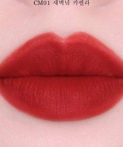 Son Kem Black Rouge Cream Matt Rouge Màu CM01 Capella - Đỏ Cam 6