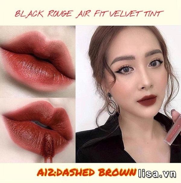 Son Black Rouge Dashed Brown A12 - Đỏ Nâu