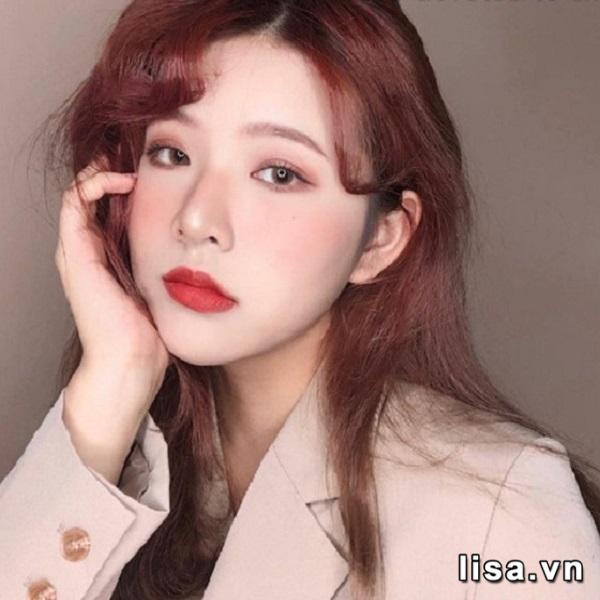 Set Quà Tặng Son Mac Brick Red Lipstick Duo 3