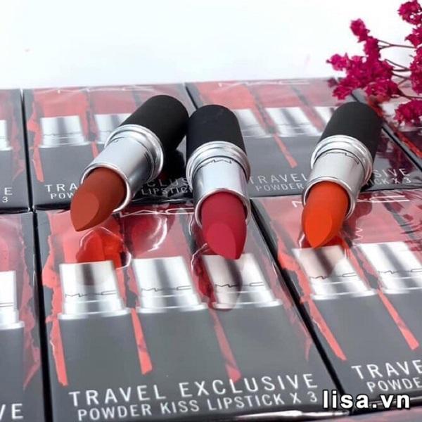 MAC Travel Exclusive Powder Kiss Lipstick - Vẻ đẹp hoàn hảo