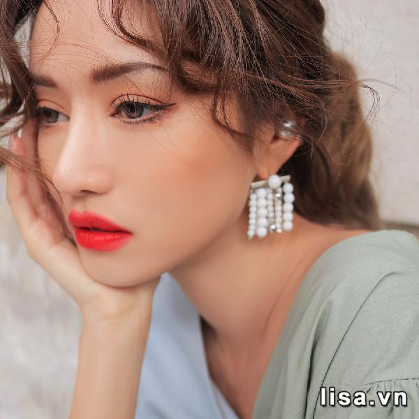 Son 3CE Slim Velvet Lip Color Màu Pale Red - Đỏ Tươi 2