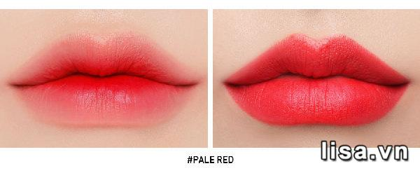 Son 3CE Slim Pale Red - Màu Đỏ Tươi 17