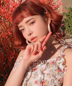Son 3CE Slim Velvet Lip Color Màu Peach Play - Hồng Cam 12