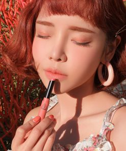 Son 3CE Slim Velvet Lip Color Màu Peach Play - Hồng Cam 13