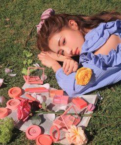 Son 3CE Slim Velvet Lip Color Màu Peach Play - Hồng Cam 14