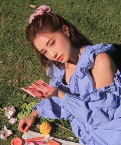 Son 3CE Slim Velvet Lip Color Màu Peach Play - Hồng Cam 15