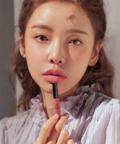 Son 3CE Slim Velvet Lip Color Màu Sand Lily - Hồng Nude 7
