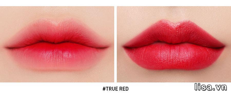 Son 3CE Slim Velvet Lip Color True Red - Đỏ Thuần 19