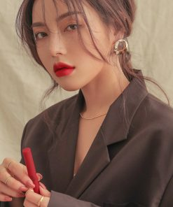 Son 3CE Slim Velvet Lip Color Màu True Red - Đỏ Thuần 7