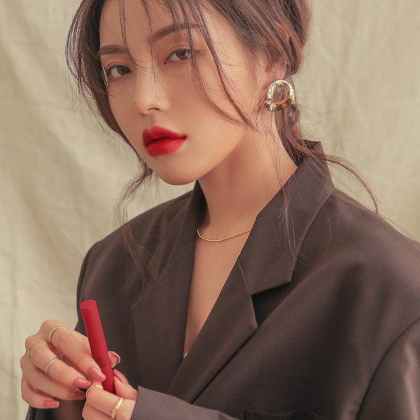 Son 3CE Slim Velvet Lip Color True Red - Đỏ Thuần 3