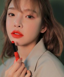 Son 3CE Slim Velvet Lip Color Vermilion - Đỏ Cam 11